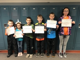 November Students of the Month!