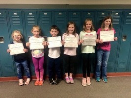 October Students of the Month!